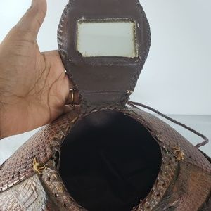 35059338ee6c Vintage Bags - Vintage Armadillo Purse Taxidermy Bag